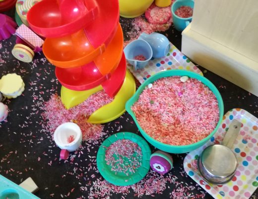 Messy play activities