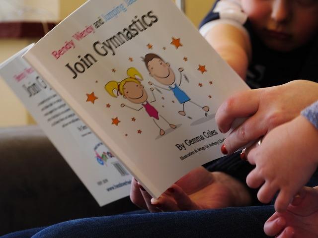 Gymnastics story book
