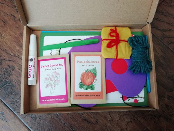 Mud and Bloom children's gardening subsciption box
