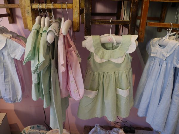Powell Craft Love and Linen range of children's clothes