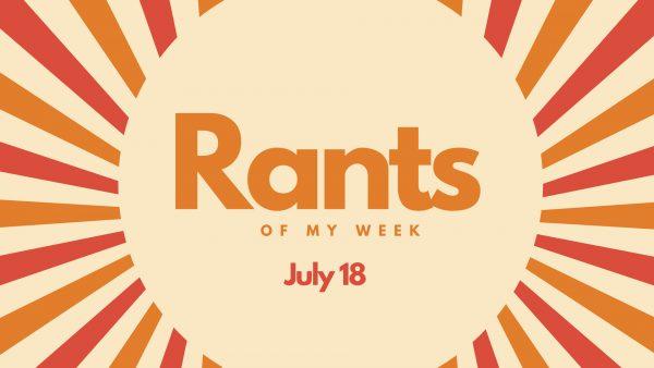 Rants of my week logo