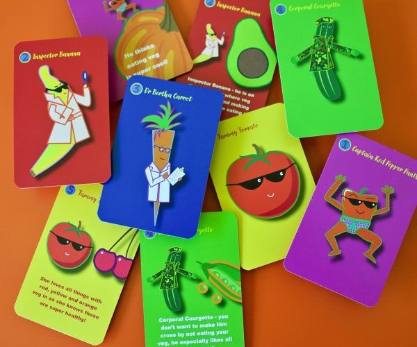 How Food Shapes Your Child fruit and vegetable characters