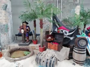 Pirates at The Historic Dockyard Chatham