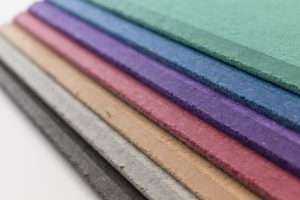 Coloured noticeboards