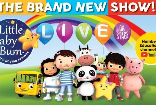 Little Baby Bum Live advert