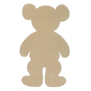 Teddy shaped noticeboard