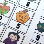Mrs Mactivity Halloween number bonds game