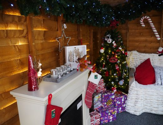Santa's Grotto at Wyevale garden centre