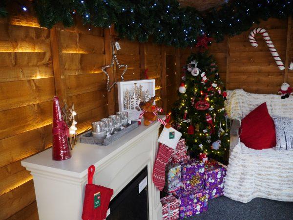 Santa's Grotto at Wyevale garden centre