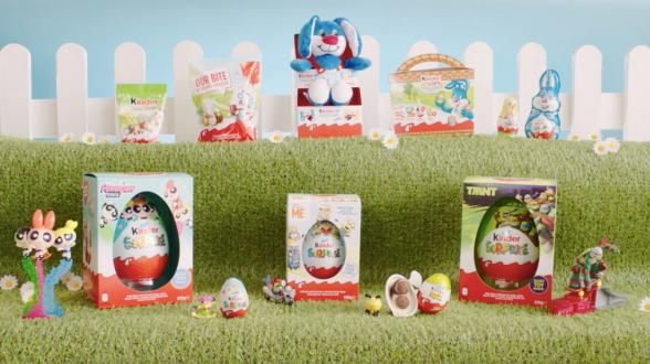 Kinder Easter products