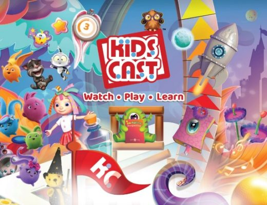 Characters within Kids Cast app