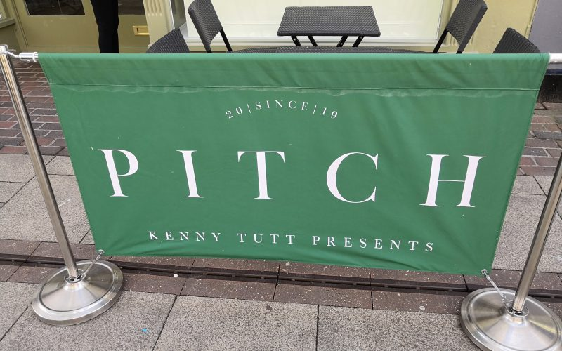Pitch restaurant banner