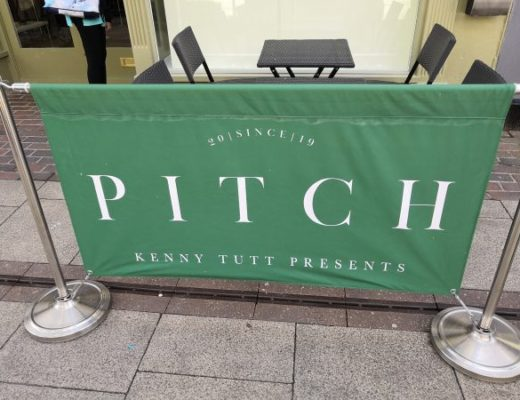 Pitch restaurant banner