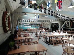 The Mess Deck restaurant