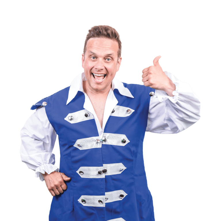 Mark Jones as Buttons in Cinderella