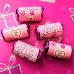 Swizzels Love Hearts tubes