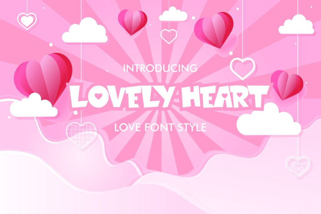 Lovely Heart Font