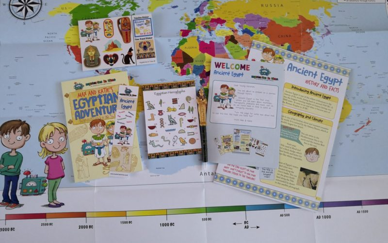 Mysteries in Time history for kids box