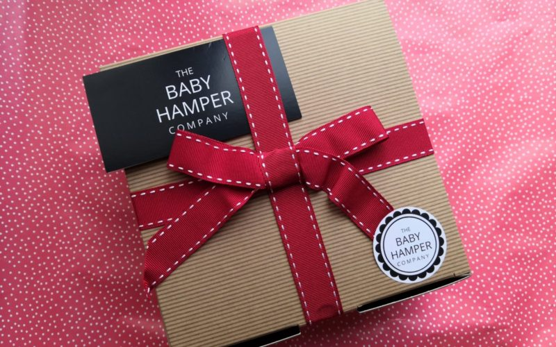 Baby Hamper Company wrapped hamper