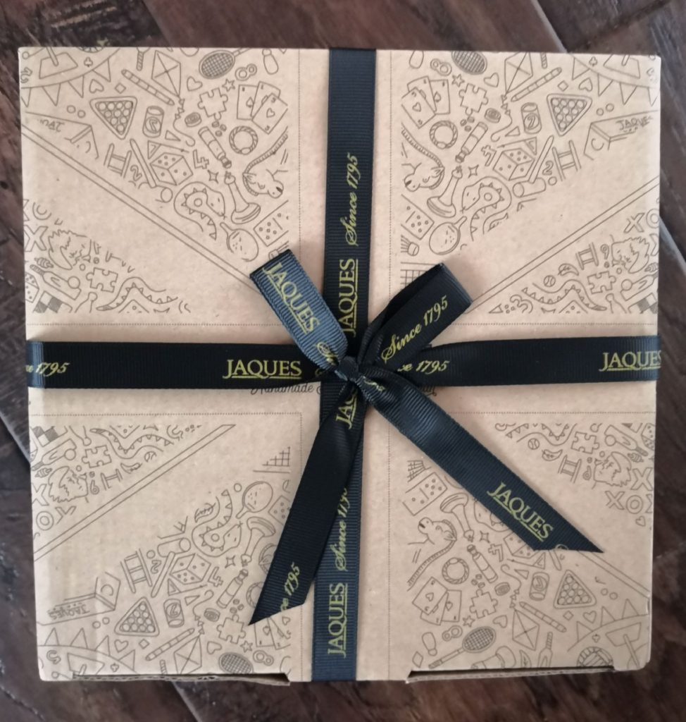 Jaques of London packaging