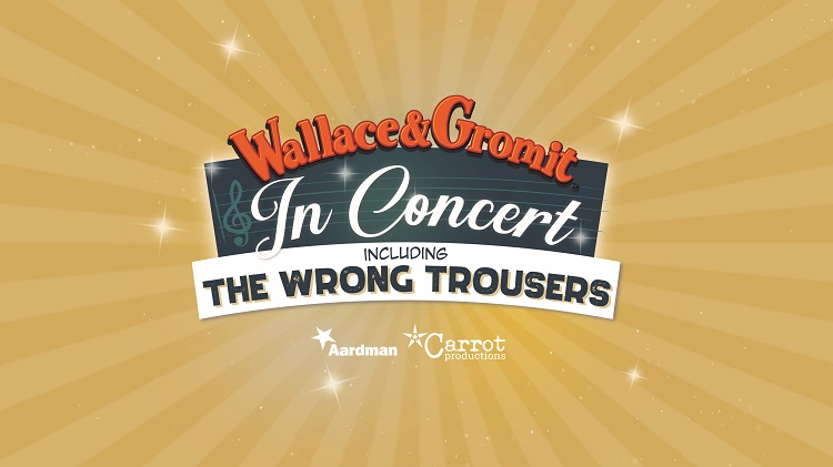 Wallace and Gromit in Concert logo
